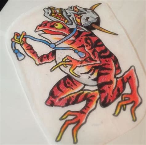 traditional japanese tattoo artist pin by luca on frog japanese