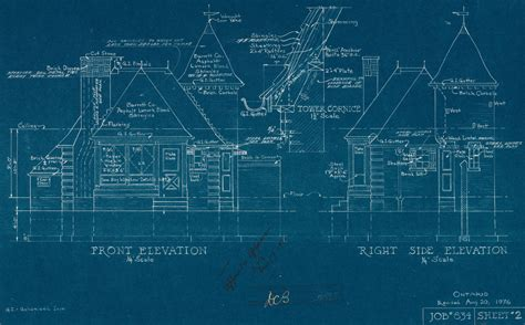 blue prints file gas station blueprints jpg