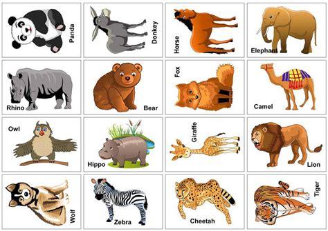 free printable animal flashcards for toddlers карточки с животными для детей