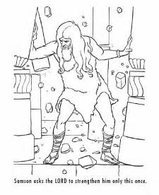 samson coloring page free coloring pages of samson and