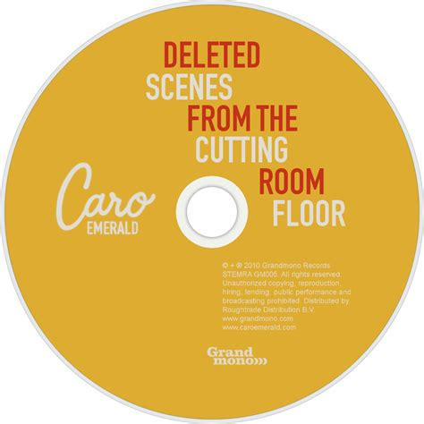 deleted from the cutting room floor caro emerald fanart fanart tv