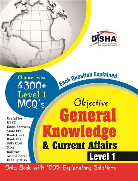 Best Book For Gk And Current Affairs For Mba by Objective General Knowledge Current Affairs Level 1 For