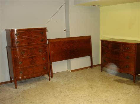 vintage bedroom furniture identification value my