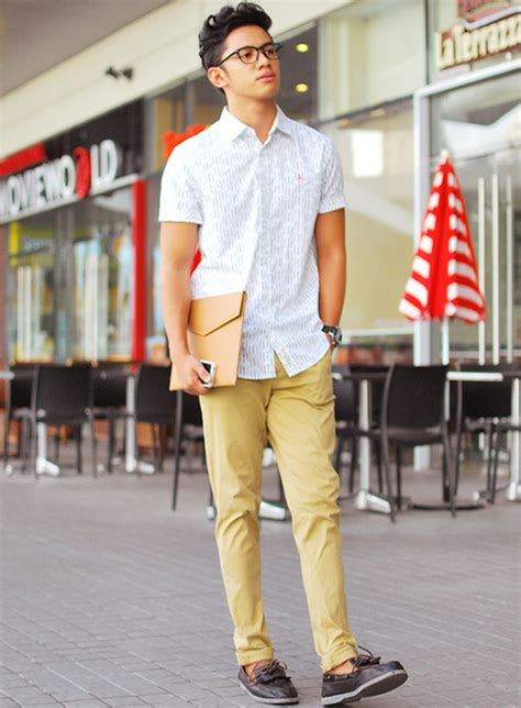 boat shoes dress pants just a simple casual outfit for a day full of