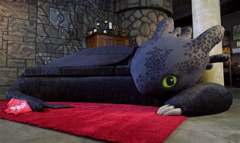 how to tell if a couch is real leather how to train your dragon toothless couch technabob