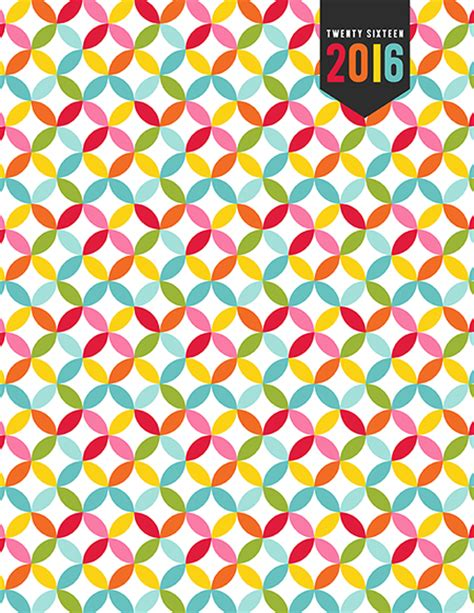 printable planner cover 2016 2016 everyday planner