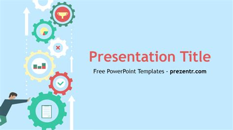 ppt templates for image processing free download free machine learning powerpoint template prezentr