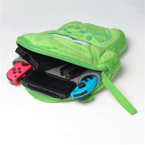 Jual Nintendo Switch Mario Pouch Green hori splatoon 2 squid plush pouch neon green for