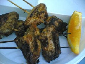 A Tusuk Sate 50g bunda adit s corner chicken wing satay
