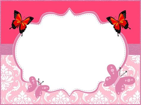 Butterfly Party Invitation Ideas And Free Invitation Templates Butterfly Invitation Template