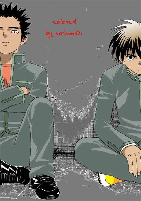 Kekian Isi 7 kekkaishi 7 yoshi and by kekkaishidream on deviantart