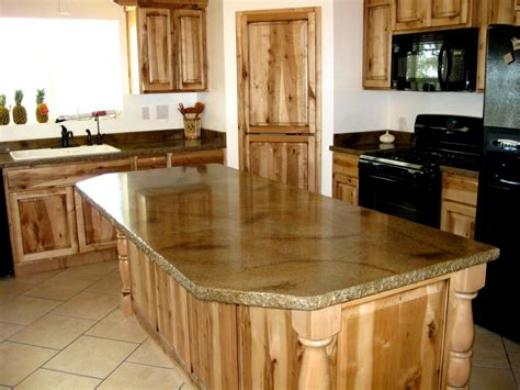 kitchen island countertop best countertops for kitchens with pictures 2016