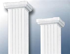 square aluminum columns