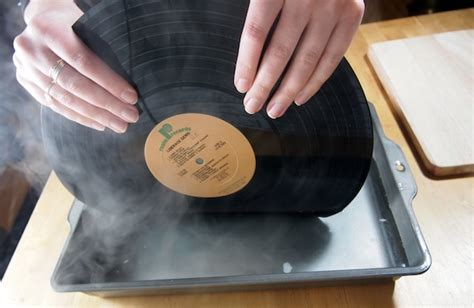 How To Remove Yourself From Records How To Make Vinyl Record Bookends Without Burning Yourself
