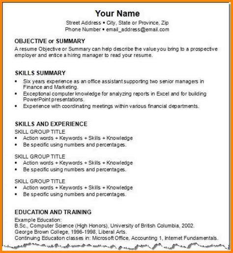 8 resume exles monthly bills template