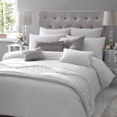 silver cushions bedroom i spy kylie at home brooches satin and pearls