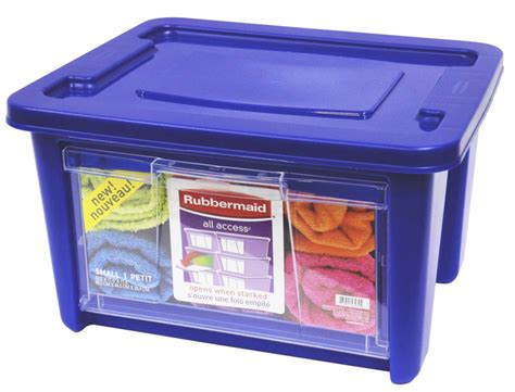 Blue Rubbermaid Small rubbermaid small all access organizer blue