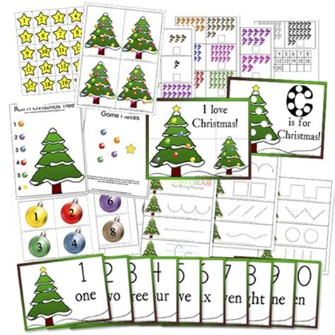 christmas preschool printables confessions of a homeschooler