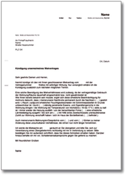 Antrag Mietwohnung Vorlage Dehoga Shop K 252 Ndigung Mietvertrag Fristlos Mieter Kaufen