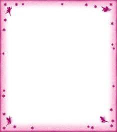 Blank fairies and flowers notepaper pink rooftop post printables