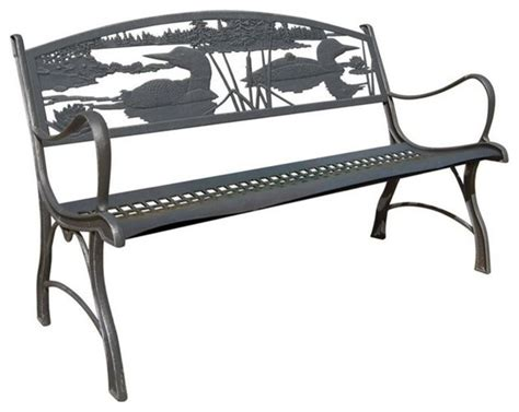 cast iron benches outdoor cast iron garden bench rustic outdoor benches by