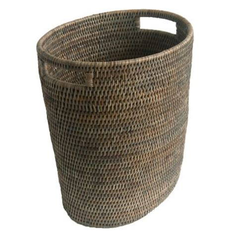 waste paper baskets square waste paper basket with leather handles