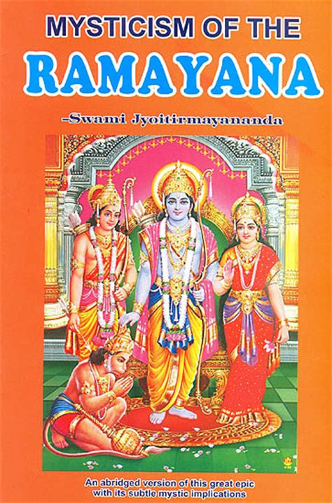 ramayana picture book mysticism of the ramayana