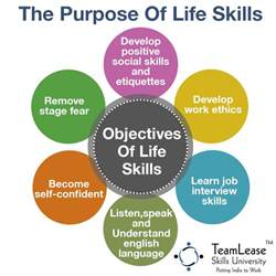 the aim of learning skills visual ly
