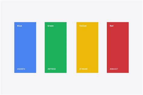 google design palette new logo for google bp o