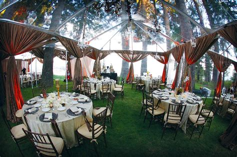backyard tent wedding reception rainingblossoms wedding receptions tents decoration