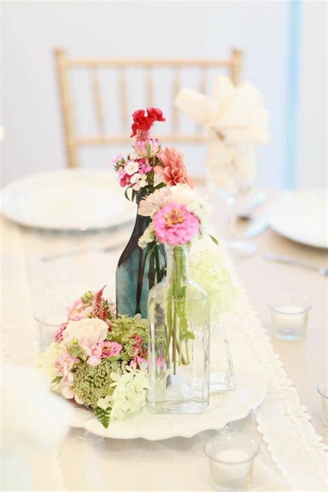 Shabby Chic Wedding Centerpieces Shabby Chic Daydreams Shabby Chic Wedding Table Centerpieces