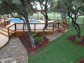 the best tips for above ground pool landscaping ideas