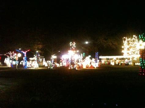 crazy christmas lights in oconee co ga