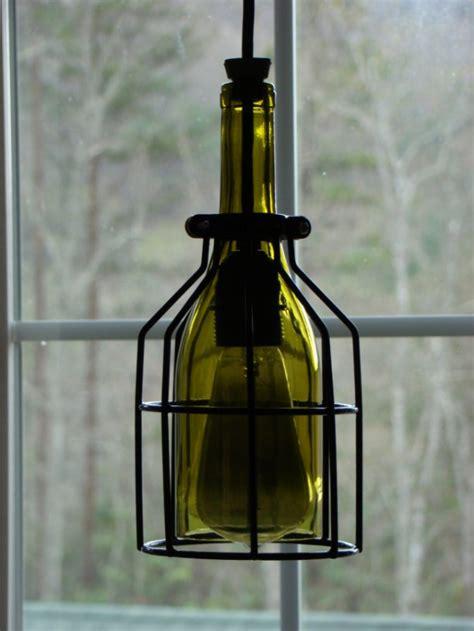 wine bottle pendant light cage wine bottle pendant light aftcra