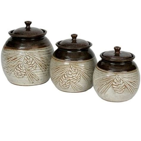 Handmade Pottery Canister Sets - 36 best images about pottery canisters on