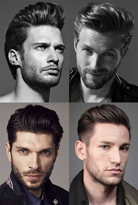 different types of mens quiffs 40 m 228 nner kurz frisuren 2015 2016 smart frisuren