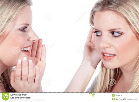 how to a to listen when called model call and listen stock photo image 39185216