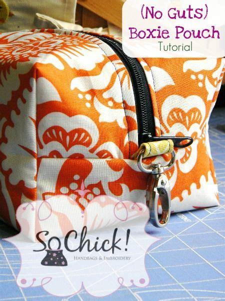 tutorial tas pouch boxie pouch tutorial tuto rits tas pinterest pouch