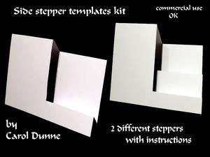 centre stepper card template a4 circle trifold shutter card cup214283 173 craftsuprint