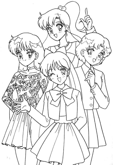 cute coloring pages sailor venus coloring pages