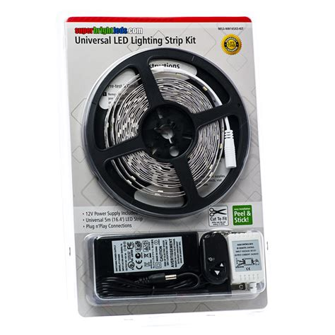 Universal Led Lighting Strip Kit Nfls X165x3 Kit Led Light Kits