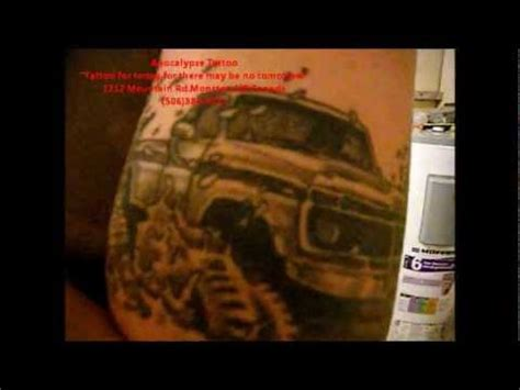 tattoo removal moncton 1977 ford 4x4 mudding tattoo youtube