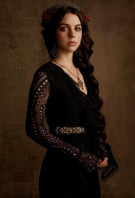 long may she reign adelaide kane inspired hair makeup new promotional photoshoot of adelaide kane as mary stuart