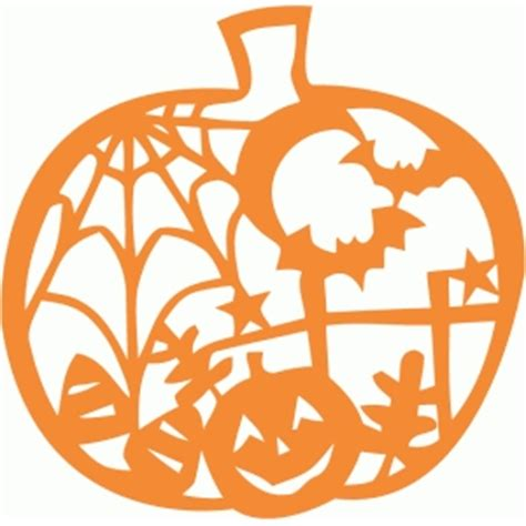 monogram pumpkin templates silhouette design store view design 49800