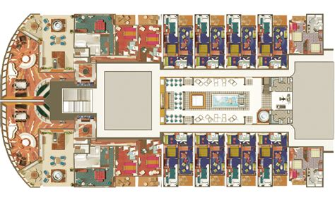 Class B Floor Plans by Garden Villa Monster Suites Found On Norwegian Cruise