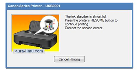 reset mp237 absorber full rajasatriapiningit cara reset printer canon series mp237