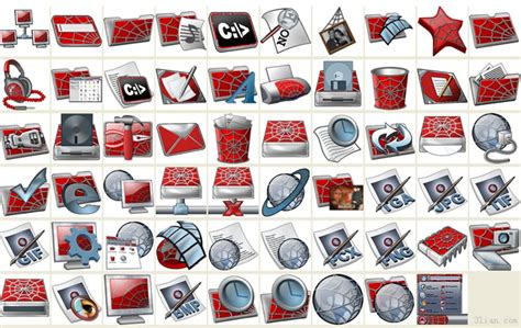 desktop icons themes free download spider hombre tema iconos png iconos icono gratis descarga