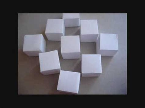 moving cubes origami how to make the origami moving cubes