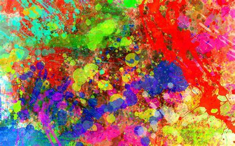 photo random paint splatter abstract palette