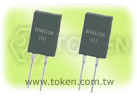 power resistor to 220 to 220 heat sink resistor for power supplies rmg20 token components